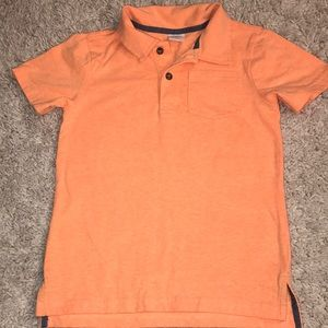 Gymboree orange polo